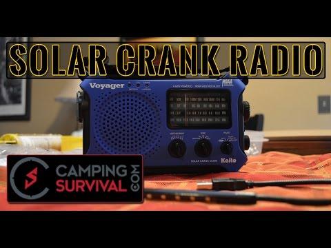 Kaito KA500 Voyager Emergency Solar Crank Radio Review