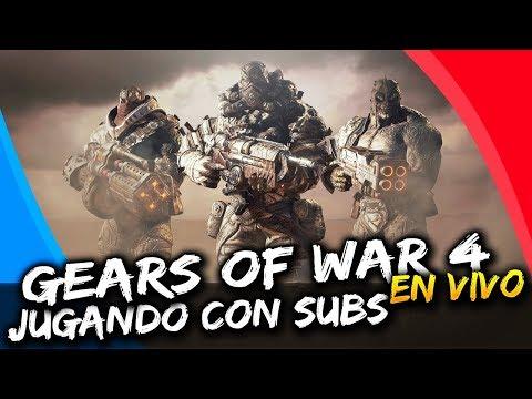[ESP/MX] Gears of War 4 : EXPERIENCIA AL 4X EN PUBLICAS EN VIVO