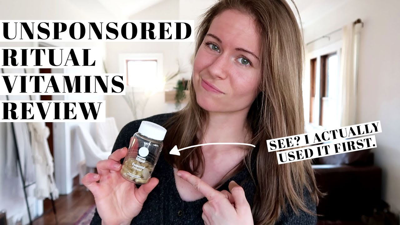 Download BRUTALLY HONEST RITUAL VITAMINS REVIEW | Pros & Cons of Multivitamin Subscription | UNSPONSORED