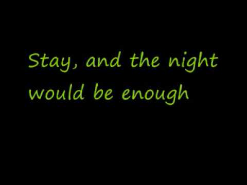 U2-Stay (Faraway, So Close!) (Lyrics)