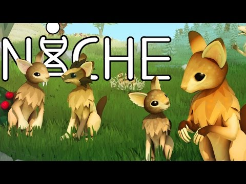Niche Gameplay - Rabbit Dog Genetic Survival Game! - Let's Play Niche Gameplay