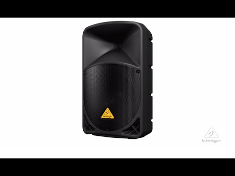 EUROLIVE B112D Active PA Speaker System with Wireless Option and Integrated Mixer