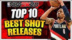 NBA 2K20 Top 10 Best Releases! What Are The Best Jump Shots in NBA 2K20?