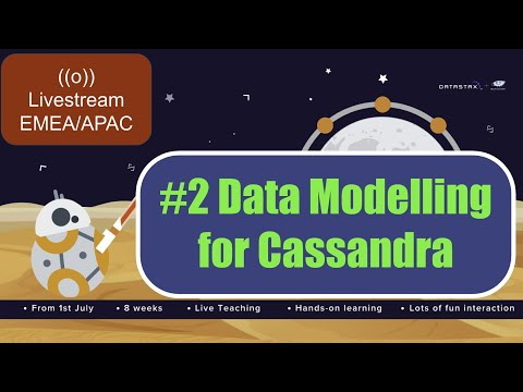 [Cassandra Cloud-Native Workshop Series] - #2 Data Modelling With Cassandra