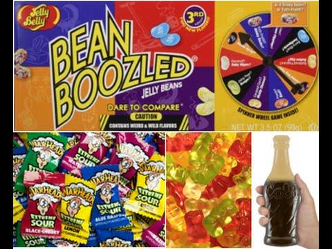 Gummy Bears Bean Boozled Warheads Gummy Cola Bottles 
