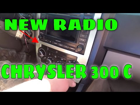 INSTALLING A NEW RADIO IN THE CHRYSLER 300 C PART 1