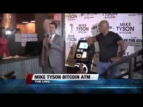 Mike Tyson Bitcoin ATM  Las Vegas1