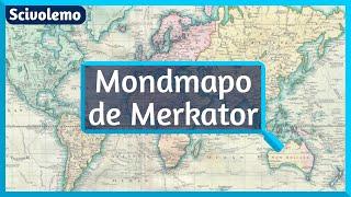Mondkarto de Merkator