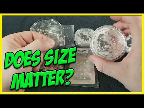 Buying Silver & Gold | Does Size Matter?
