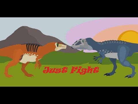 Just Fight; Acrocanthosaurus Vs Carcharodontosaurus
