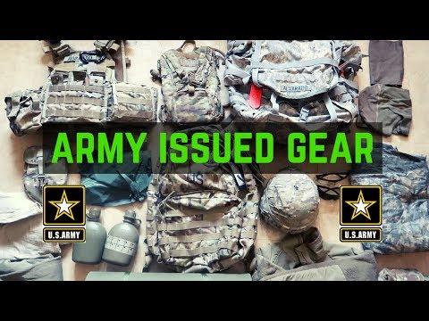 Gear You Get In The Army | ARMY CIF (Central Issue Facility)