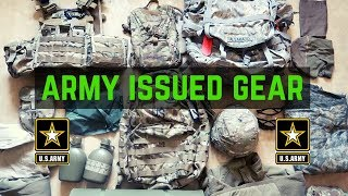 Gear You Get In The Army   ARMY CIF (Central Issue Facility)