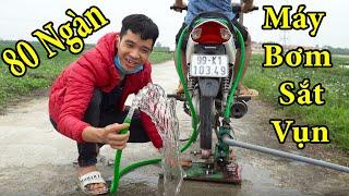 PHD | Chế Tạo Máy Bơm Nước Với Xe Máy | How to Make a Water Pump from Motor at Home
