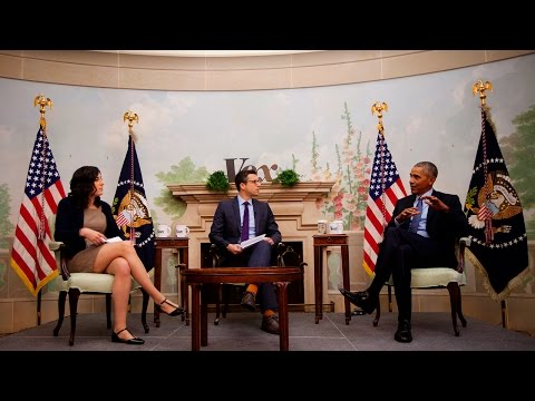 President Barack Obama interview with Ezra Klein and Sarah K