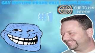 Gay Hotline Prank Call Compilation #1- Tim Likes To Rim (ft. TrollingSpecialist)