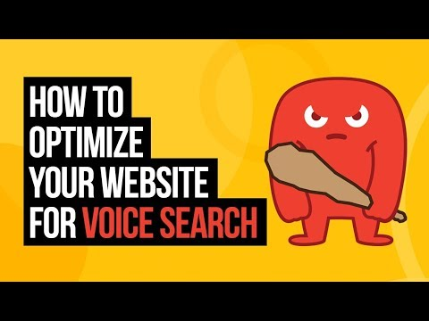 How to Optimize Your Website for Voice Search (2018)