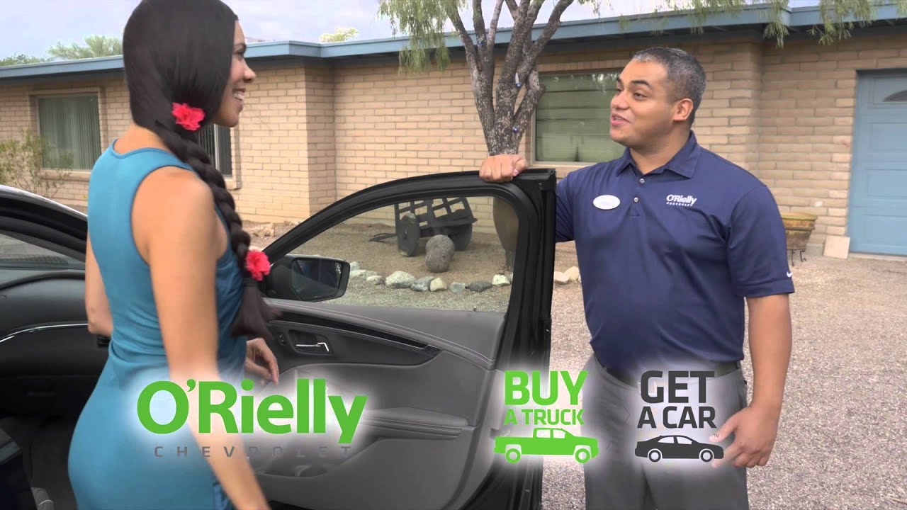 Buy a Truck, Get a Car at O'Rielly Chevrolet Tucson AZ Your New and
