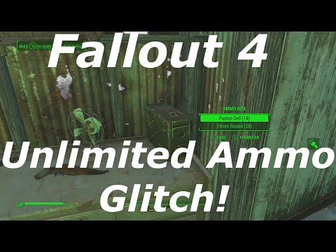 Fallout 4 Unlimited Ammo Glitch / Exploit! How to Get Infinite Ammo! (Fallout 4 Glitches)
