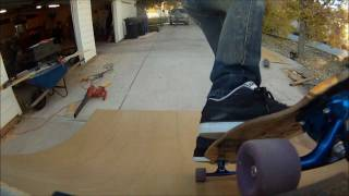 How To Build And Shred A Quarter Pipe