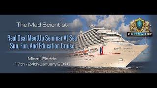 Real Deal Meetup Seminar At Sea Real Estate Cruise | Learn real estate investing Baltimore