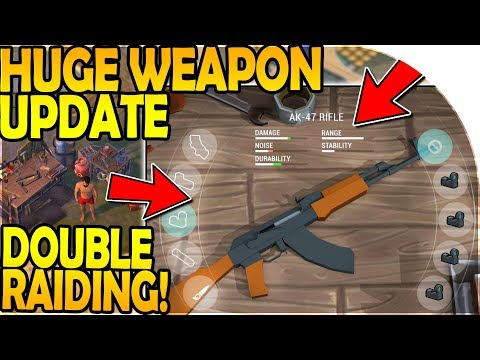 HUGE WEAPON UPDATE INBOUND + DOUBLE RAIDING - Last Day On Earth Survival Update 1.8.3