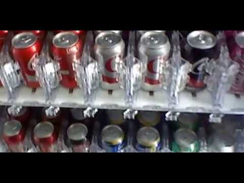 Dixie Narco DN3800 Glass Front Vending Machine At Lakeview Senior Center - Irvine ,CA
