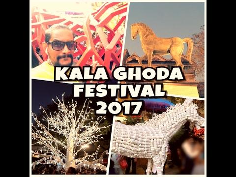 KALA GHODA Art festival 2017 (Mumbai) - AjVlogU 007