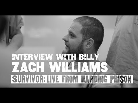 Zach Williams - Interview With Billy (Live From Harding Prison)