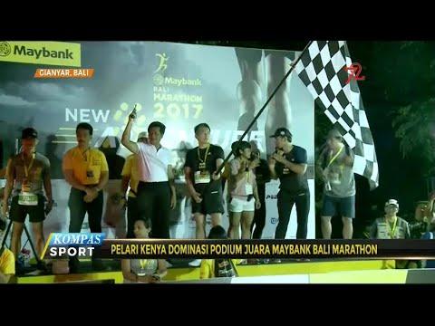 Pelari Kenya Dominasi Podium Juara Maybank Bali Marathon