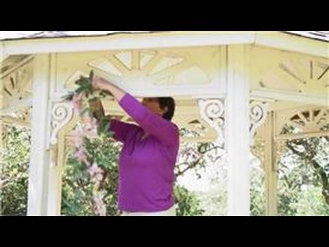 Wedding Ceremony Decorations : How To Decorate A Gazebo For A Wedding    YouTube