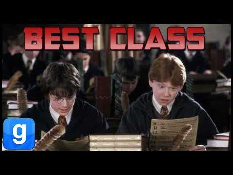 Best Classes in Hogwarts (Garry's Mod | Hogwarts RP)