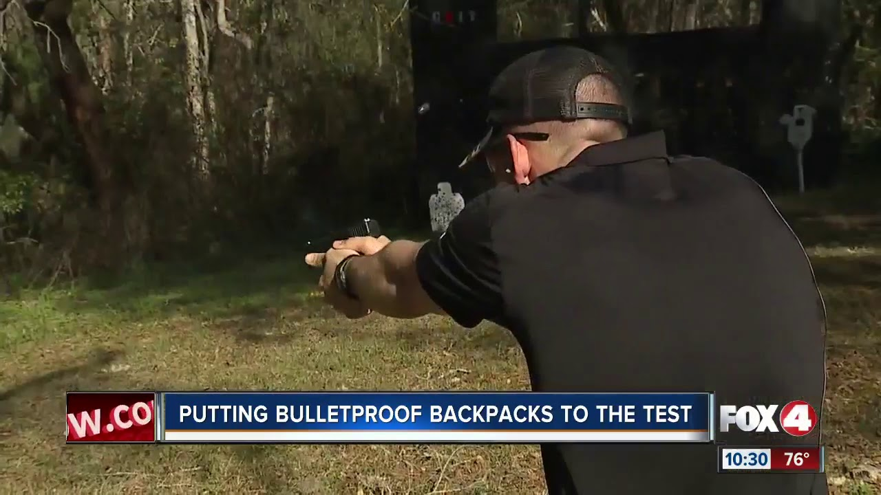 0a26e5cdf6 Testing out the sold out bulletproof backpacks made in Florida - YouTube