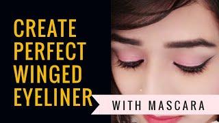 How To Create Winged Eyeliner|| Jazz Beauty World