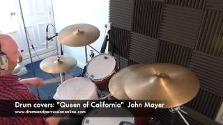 "Video Drum Covers: ""Queen of California"" - John Mayer download MP3, 3GP, MP4, WEBM, AVI, FLV Agustus 2018"