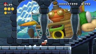 New Super Mario Bros U Walkthrough - Part 1 - World 1 Acorn Plains