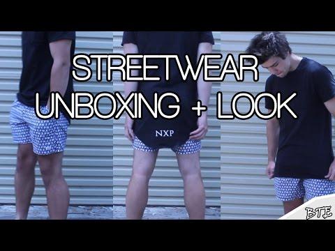 """Men's Streetwear Unboxing """"Nena Pasadena"""""""