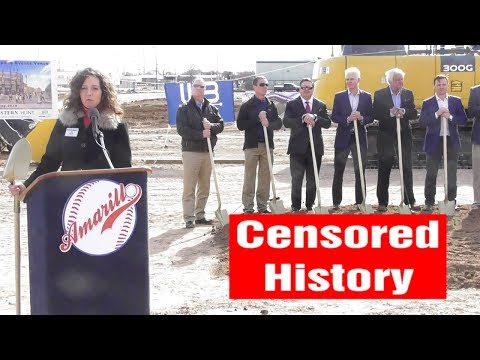 City of Amarillo Breaks Ground For Downtown Ballpark (Censored)
