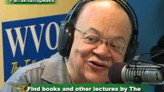 The Honorable Minister Louis Farrakhan with Cliff Kelly of WVON  Episode 1 on 4 02 09