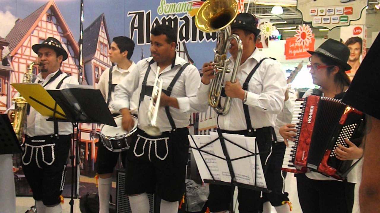 Auf Hoher See Saxo Cl Musica Tradicional Alemana En Chile Youtube