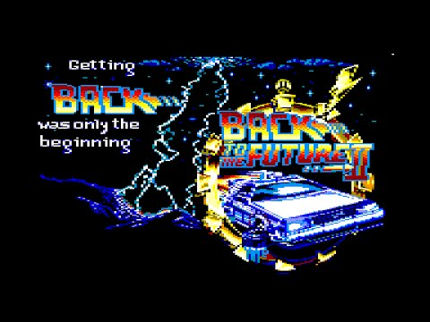 Back To The Future Part II Review for the Amstrad CPC by John Gage