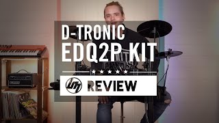 D-Tronic EDQ2P Electronic Drum Kit | Better Music
