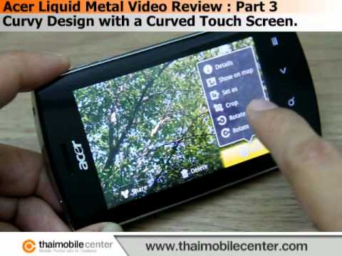 Acer Liquid Metal Video Review : Part 3