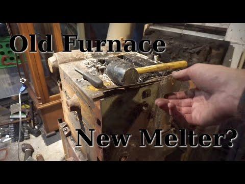 Old Hydronic Furnace to New DIY Melting Furnace
