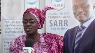 Législatives 2017: Visite de proximité du MRLD à Liberté 6