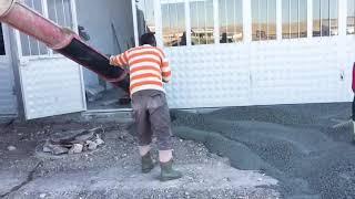 Polatlı Sanayi Dükkanları Zemin Betonu Dökümü