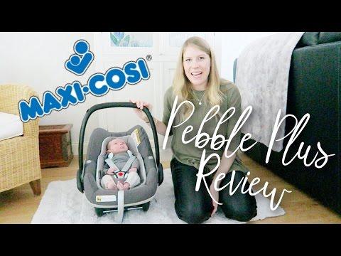 MAXI COSI PEBBLE PLUS CAR SEAT REVIEW   #AD