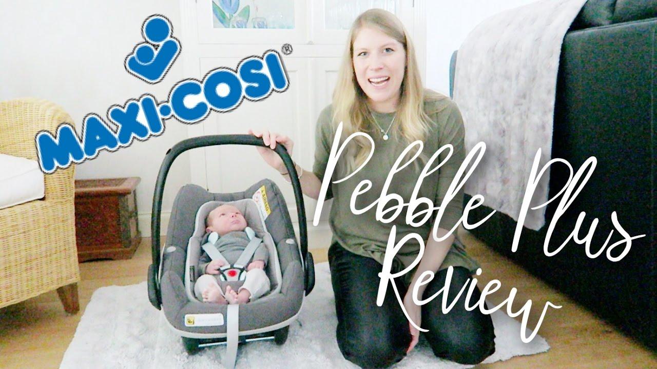maxi cosi pebble plus car seat review ad youtube. Black Bedroom Furniture Sets. Home Design Ideas