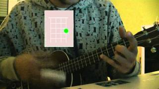Coldplay - The Scientist Ukulele Tutorial