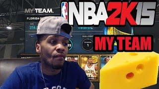 NBA2K15 MyTeam How to Baseline Cheese and Alley Oop Cheese
