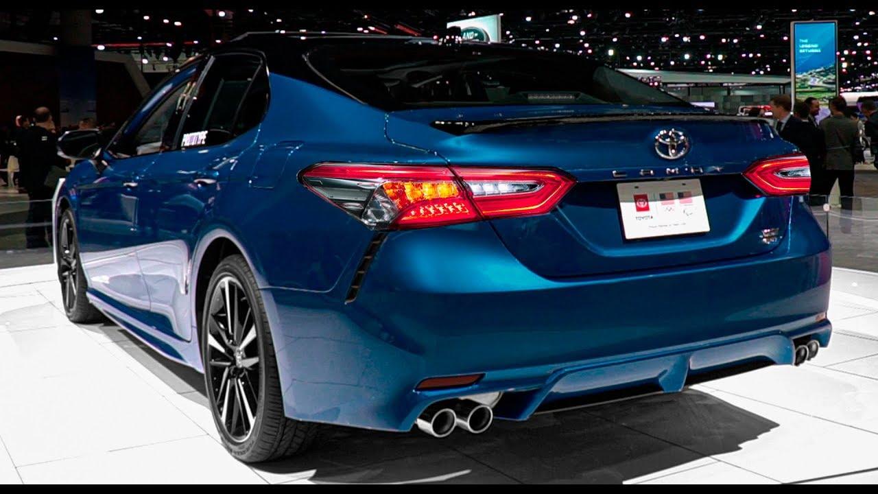 2020 Toyota Camry Xse Awd Interior And Exterior Walkaround Youtube